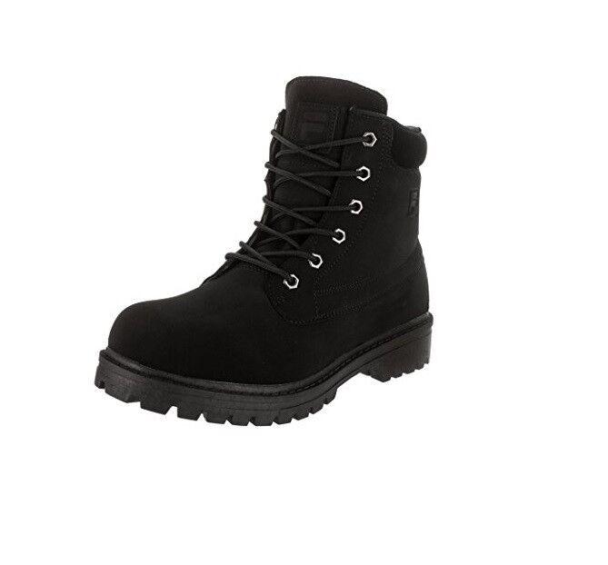 NEW MEN FILA EDGEWATER 12 Stiefel schwarz schwarz ORIGINAL FREE SHIPPING 1SH40063-001
