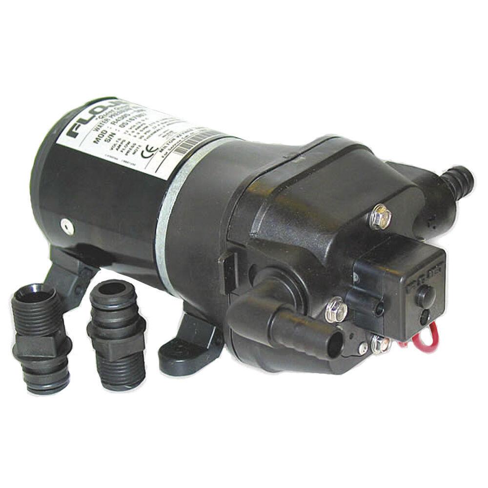 Flojet Quad Dc Système d'eau pompe - 35psi 3.3GPM 12V modèle 04305500 A