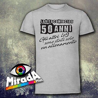 T Spiritosaebay Regalo Maglietta Shirt Moda Colore 50 Anni