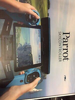 Di Carattere Dolce Parrot Skycontroller Per Bebop Drone Blu Pre-owned Aan-mostra Il Titolo Originale Modellazione Duratura