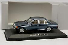 Minichamps 1/43 - Mercedes 230 E W123 Bleue