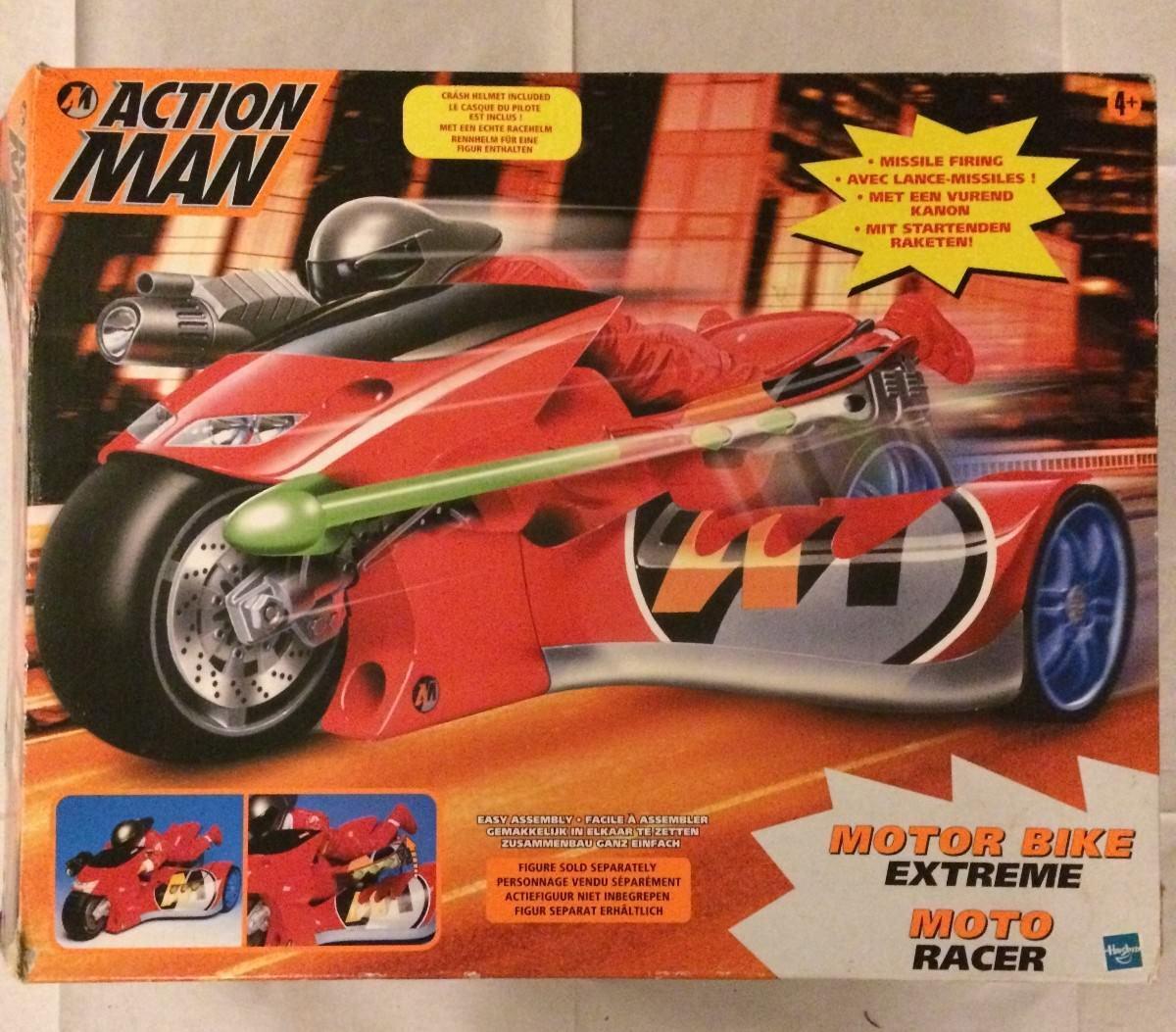 Hasbro ACTION MAN Extreme Moto Racer MOTORBIKE   MOTOR BIKE TRIKE 2000