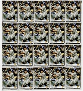 (20) 2019 Topps Update COLE TUCKER Rookie #US197 Pittsburgh Pirates RC Card LOT