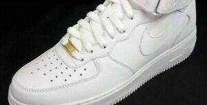 Details zu NEW AIR FORCE 1 laces with GOLD BADGE AF1 82 supreme jumpman cdg roc quai off