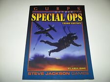 GURPS Special Ops Third Edition - Steve Jackson Games - Excellent Shape
