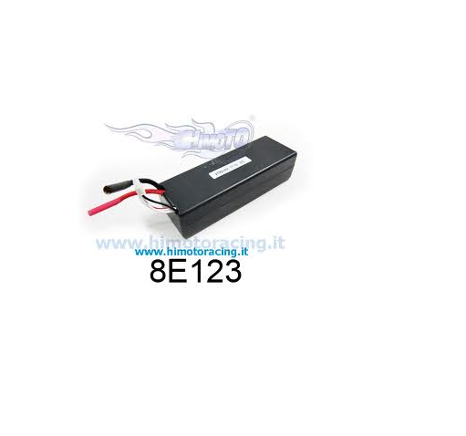 Batteria lipo 2700mah 11,1v 3s platzen 20c disch 40 schwerverbrecher, batterie himoto 8e123