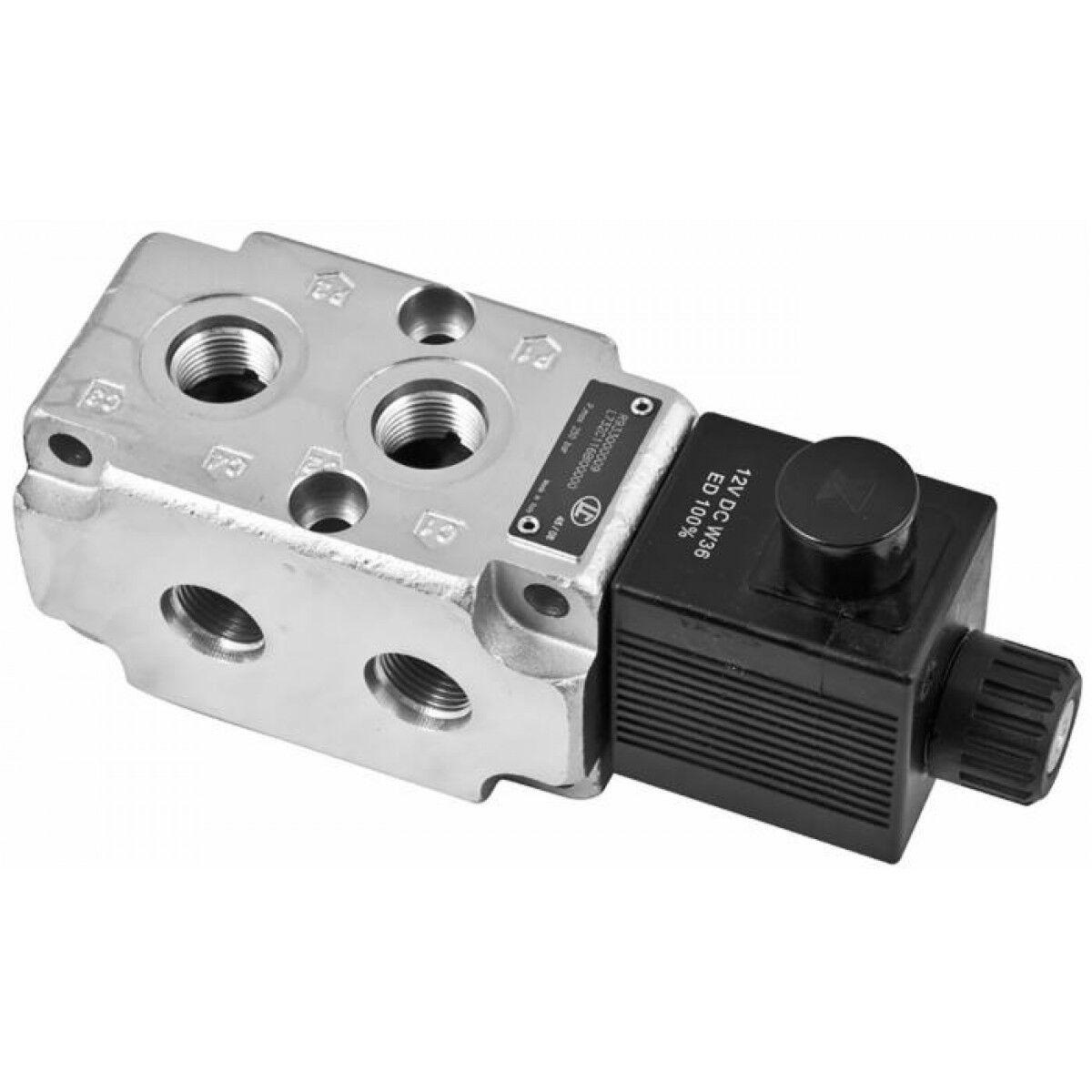 Deviatore elettrico modulare 3 8  a 6 vie, pressione massima 310 bar  REXROTH BO