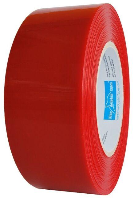 PE Klebeband Rot 48mm x 50m Schutzband Abklebeband UV-beständig wetterfest