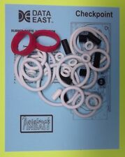 1991 Data East Checkpoint pinball rubber ring kit