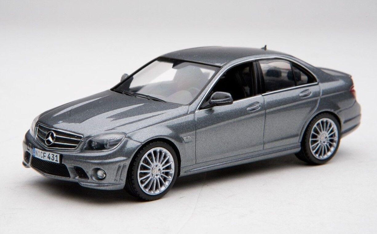 Schuco 1 43 AMG Mercedes-Benz C63 in Palladio silver  Shu04927