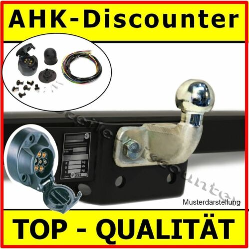 98-10 Bus Kasten AHK E-Satz komplett Anhängevorrichtung /& ES7 Opel Movano A Bj