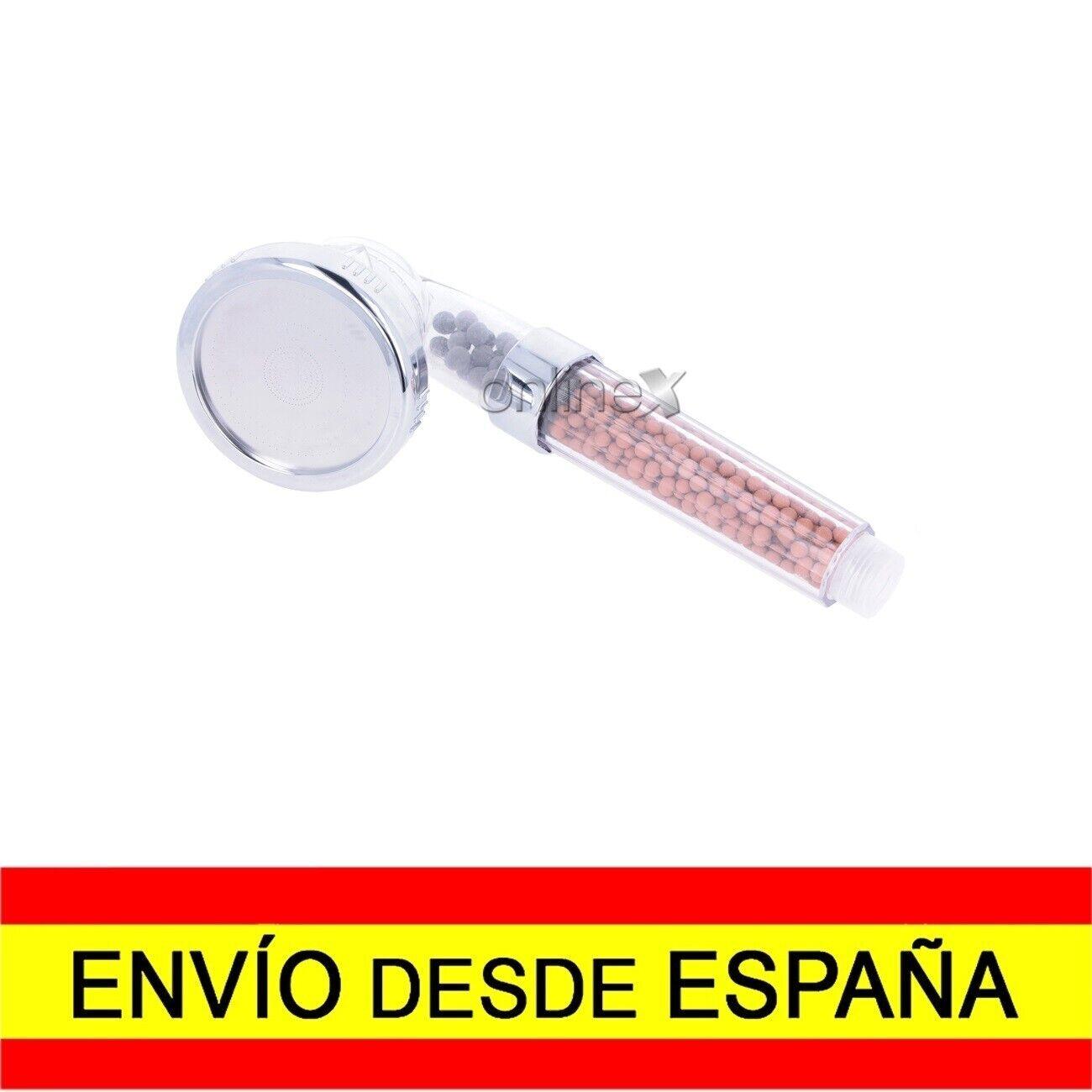 Alcachofa Grifo Ducha Masaje Purificación Bolas Minerales EnvÍo 48/72h a2135
