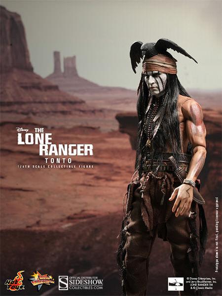 Hot Toys The Lone Ranger TONTO 12