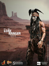 """Hot Toys The Lone Ranger TONTO 12"""" Action Figure 1/6 Scale Johnny Depp MMS217"""