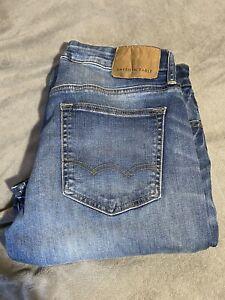 American Eagle men's slim straight jeans blue denim 31 x 32