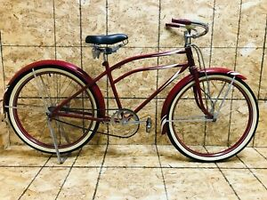 Antique 1930s Montgomery Ward Hawthorne Red RESTORED Bicycle