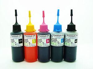 CISS-Ricarica-Inchiostro-Bottiglie-Per-Canon-iP7250-MG5450-MG5550-MG6450-MX925-CIS-NON-OEM