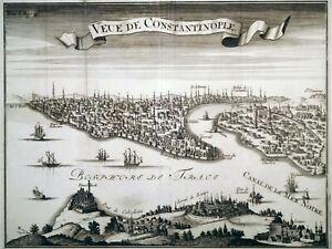 Aguafuerte-estambul-Constantinopla-1700-del-Bosforo