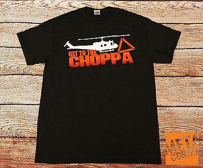 Predator - Arnold Schwarzenegger Get to the Choppa Movie T-shirt