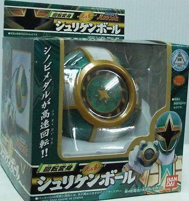 Power Rangers NINJA STORM Hurricaneger Kaiten Henshin Shuriken Ball Light Sound