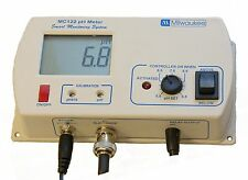 Milwaukee MC122 pH Controller 115V, for CO2 Dosing /Monitor / Tester / Meter