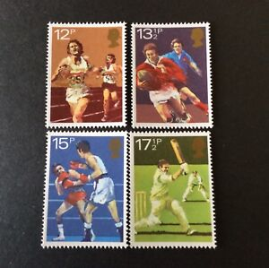 1980-GB-Sports-Centenaries-Stamps-MNH