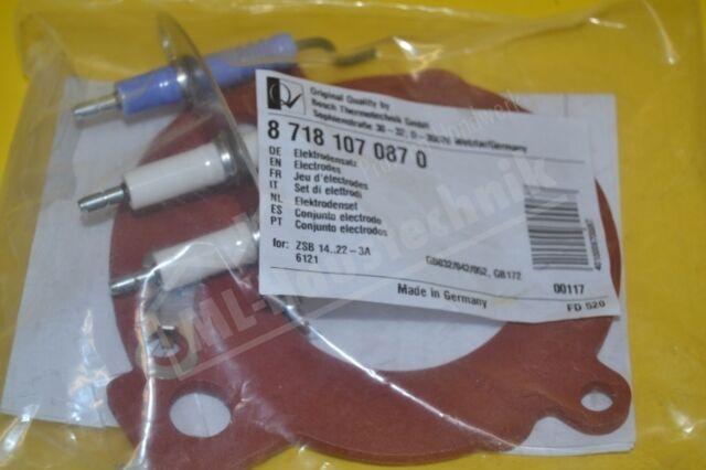 Junkers Electrodos Kit 87181070870 Electrodos
