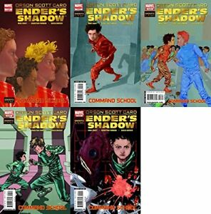 Enders-Shadow-Command-School-1-5-2009-2010-Marvel-Comics-5-Comics