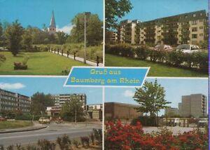 Alte Postkarte - Gruß aus Baumberg am Rhein - Kornwestheim, Deutschland - Alte Postkarte - Gruß aus Baumberg am Rhein - Kornwestheim, Deutschland