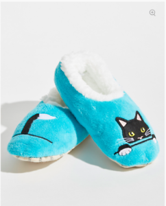 Snoozies Toddler Slippers Cat Size Large 9//10