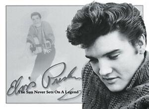 Elvis Presley Porträt Magnet 6x8 cm Kraftmagnet Kühlschrankmagnet PC301//228