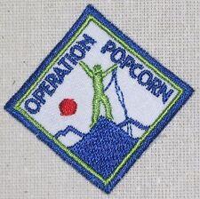 Operation Popcorn Patch - Boy Scouts (iron-on)