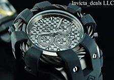 3d7ef4ad9 Invicta Men's 50mm BOLT Chronograph Black COMBAT Black Carbon Fiber Dial  Watch
