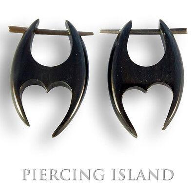 Organische Ohrringe Earrings Horn Piercing Design Schmuck ER011