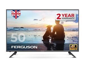"FERGUSON 50"" INCH 4K LED TV FREEVIEW HD, 3 x HDMI & USB."