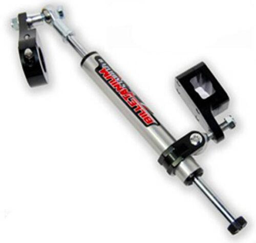 Streamline 7 Way REBUILDABLE Steering Stabilizer BLACK Honda TRX 450R 450ER