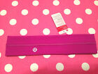 LULULEMON FLY AWAY TAMER YOGA FITNESS SPORT HEADBAND HAIRBAND SWEATBAND NWT