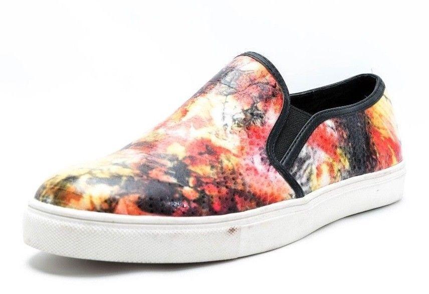 Wouomo STEVE MADDEN EBONY multi-Coloreeeee slip on scarpe da ginnastica Dimensione 7 M