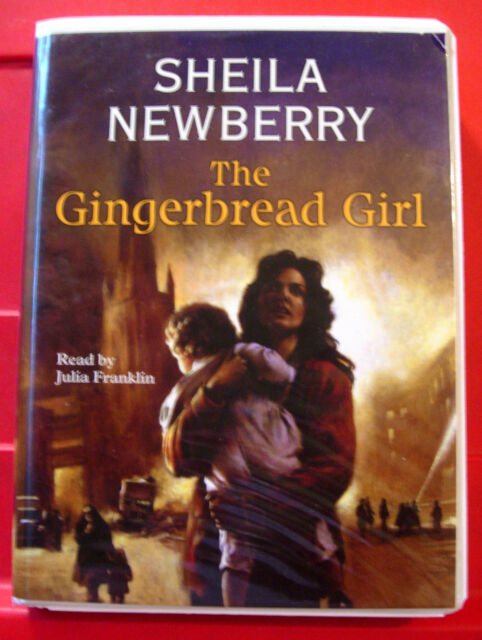 Sheila Newberry The Gingerbread Girl 6-Tape UNAB.Audio Julia Franklin Historical
