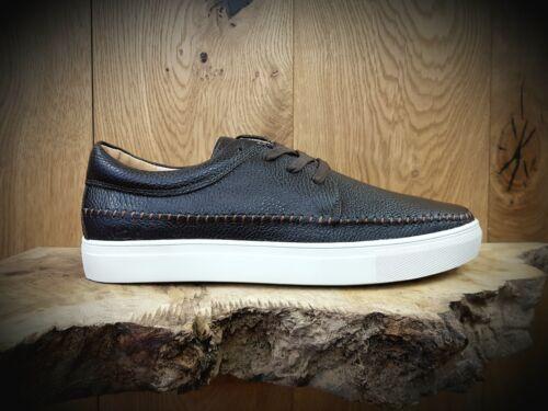 NICHOLAS DEAKINS //// Aldous 2 //// Brown Mens Leather Shoes //// REDUCED Was £85.00