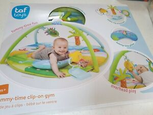 Taf Toys Tummy Time Clip-On Baby Gym Mat Play Mirror Infant Suitable From Birth