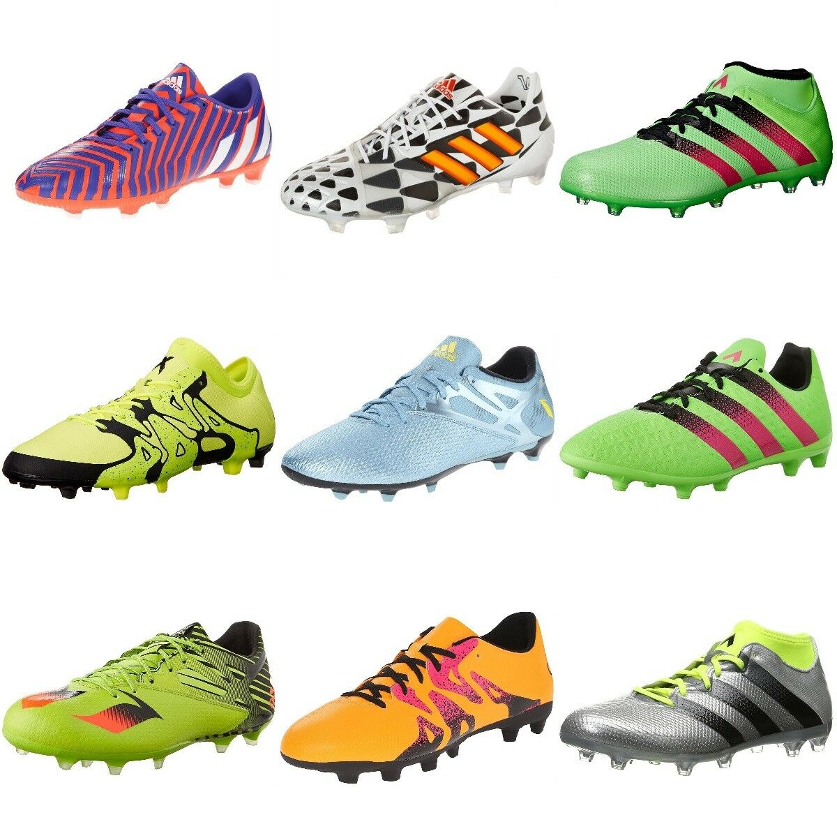 NEW Adidas Men's Athletic FG AG Soccer shoes Cleats Size color Models