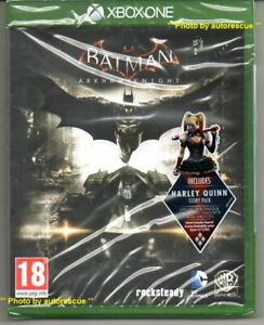 BATMAN-Arkham-Knight-Inc-Harley-Quinn-STORIA-Pack-034-NUOVO-amp-Sealed-039-XBOX-ONE