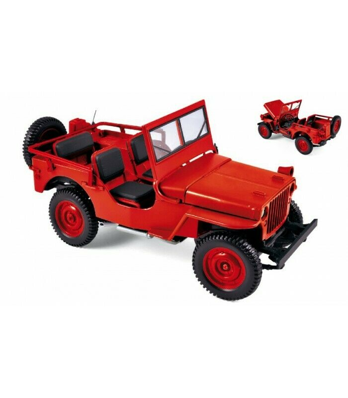 Jeep 1942 Red 1 18