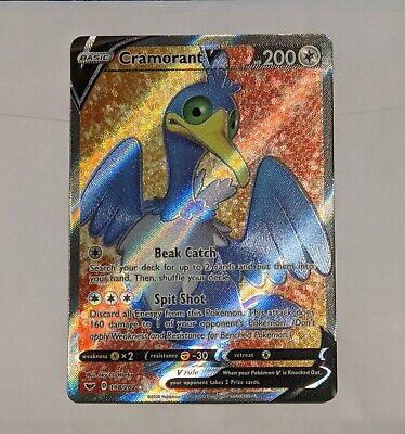 SWSH SWORD /& SHIELD CRAMORANT V 198//202 FULL ART Pokemon