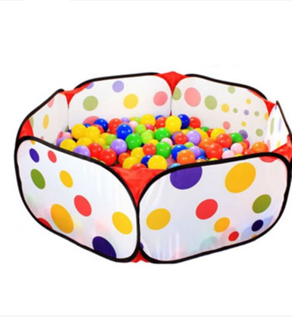 120cm Kids Portable Pit Ball Pool Outdoor Indoor Baby Tent Play Hut Foldable J