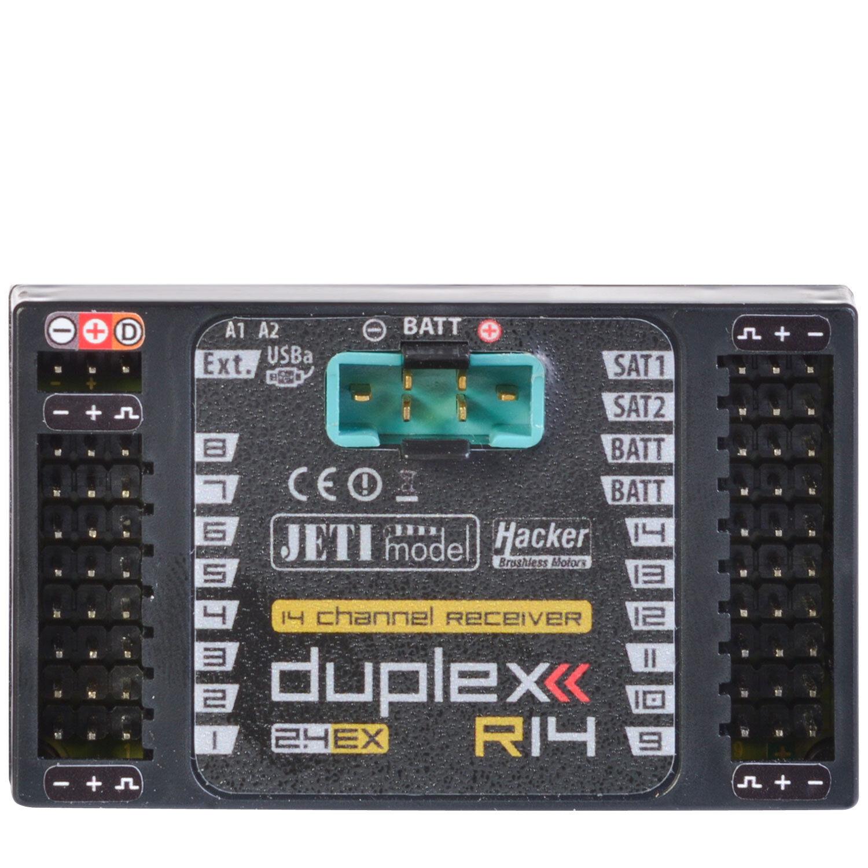 Duplex 2.4EX 14 Canal Receptor R14 2.4Ghz Jetimodel JDEX-R14 80001208 820221