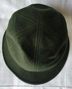 CAPPELLO-Original-GLOCKNER-Loden-in-ALPACA-WOLL-HAT-Misura-56-Adriatico