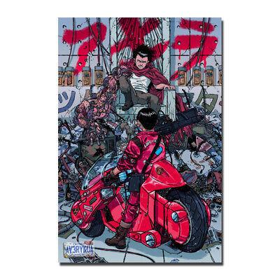 Akira 12x18 24x36inch Japanese Anime Movie Silk Poster Art Print Shop Room Decal