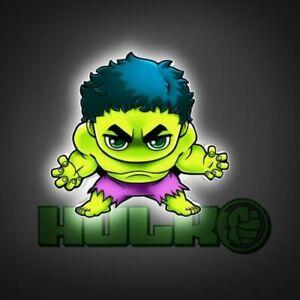 Avengers Mini series Hulk 3D Deco Light Led Wall light ...